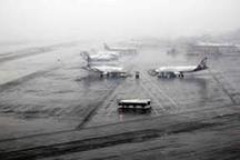 لغو 6 پرواز فرودگاه بین المللی تبریز به علت برودت هوا