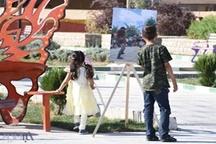 برپایی نمایشگاه عکس در حاشیه جشنواره بین المللی تئاتر خیابانی مریوان