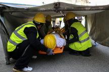 رقابت های امداد و نجات شهروندان تهرانی برگزار شد