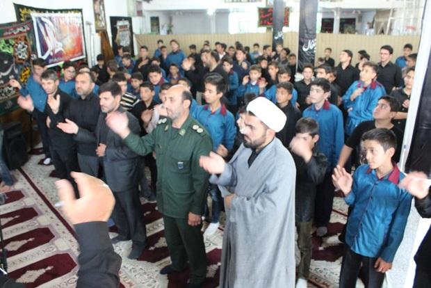 آیین سوگواری 'احلی من العسل' در استان اردبیل برگزار کردند