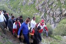 دومین عملیات امداد برای نجات کوهنورد مصدوم در ارتفاعات کامیاران