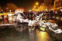 تصادف در بولوار وکیل آباد مشهد 2 کشته به جا گذاشت