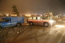 هلال احمر خراسان شمالی به 201 خودرو امدادرسانی کرد