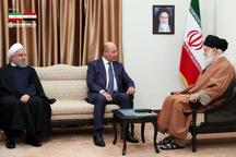 دیدار رییس جمهور عراق با رهبر معظم انقلاب