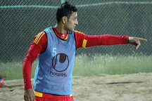 فوتبال ساحلی در تبریز جریان دارد  علیگلی: در هوای سرد نمیتوانیم تمرین کنیم