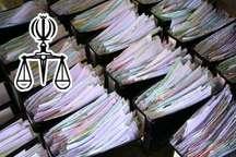 تشکیل حدود 720 هزار پرونده قضایی در مازندران طی سال گذشته