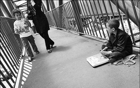 70 درصد کودکان متکدی در خیابان های تهران  ایرانی نیستند