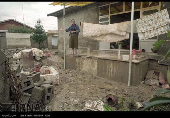 800 تن سیمان رایگان به سیلزدگان مازندرانی تحویل شد