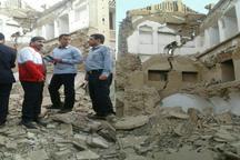 خانه تاریخی فیروزی در دزفول فروریخت