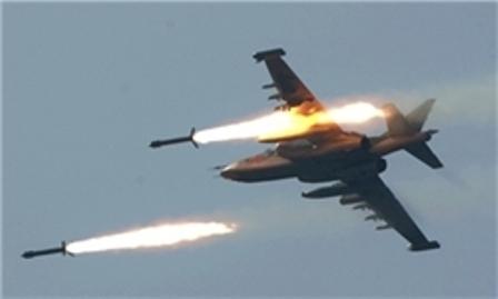 هلاکت 148 داعشی در حملات هوایی جنگنده های عراق به غرب موصل