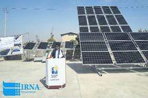 راه اندازی نیروگاه خورشیدی 100کیلوواتی در شهرک صنعتی کمال الملک