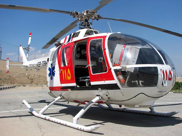 پرواز اورژانس هوایی برای نجات نوجوان ۱۱ ساله