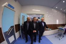 معاون وزیر بهداشت از بیمارستان پیروز لاهیجان بازدید کرد