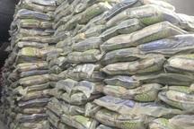 13 تن برنج احتکار شده در قم کشف شد