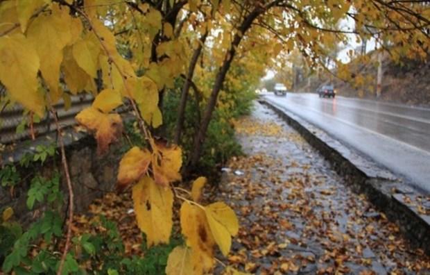 بارش پاییزی اسفراین هفت برابر شد