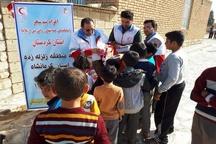 اعزام تیم حمایت روانی هلال احمر کردستان به مناطق زلزله زده