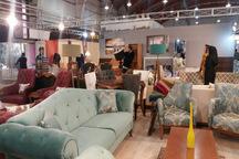 چهاردهمین نمایشگاه تخصصی مبلمان در قزوین گشایش یافت
