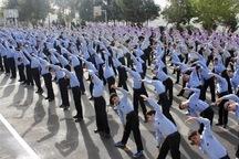 35 هزارمدرسه کشور ورزش صبحگاهی اجرا می کنند