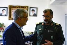 آمادگی استانداری البرز برای همکاریهای مشترک دوجانبه با سپاه در راستای ترویج امور اجتماعی و ارزشی