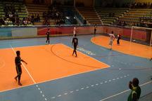 تیم فوتسال شهرداری قزوین رعد اصفهان را شکست دارد