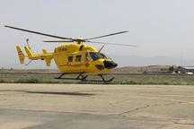 اورژانس هوایی 4 مصدوم را از مرگ نجات داد