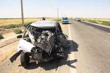 تصادف شدید در محور ورامین – چرمشهر یک مصدوم برجای گذاشت