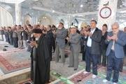 مردم نایین، نماز طلب باران خواندند