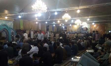 مراسم ترحیم همسر آیت الله علم الهدی در مشهد برگزار شد