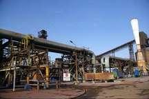 ثبت رکورد تولید روزانه پنج هزار و 382 تن تختال در فولاد هرمزگان