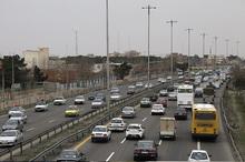 تردد 237 خودرو در ساعت از جاده های زنجان ثبت شد