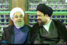 تجدید میثاق رئیس جمهوری و هیات دولت با آرمان های حضرت امام(س)