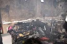 انفجار منجر به آتش سوزی منزل مسکونی در مشهد