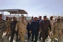 استاندار خوزستان و نماینده دولت عراق در مرزشلمچه دیدار کردند