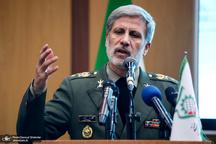 وزیر دفاع: اگر همکاریهای ایران نبود، دشمنان عراق را تجزیه میکردند