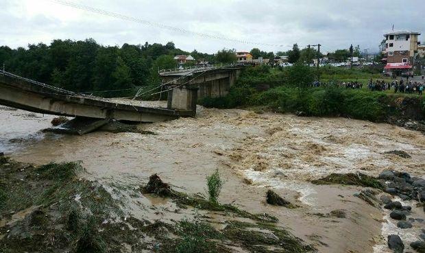 ساخت و ترمیم پل های تخریب شده از هفته آینده آغاز می شود