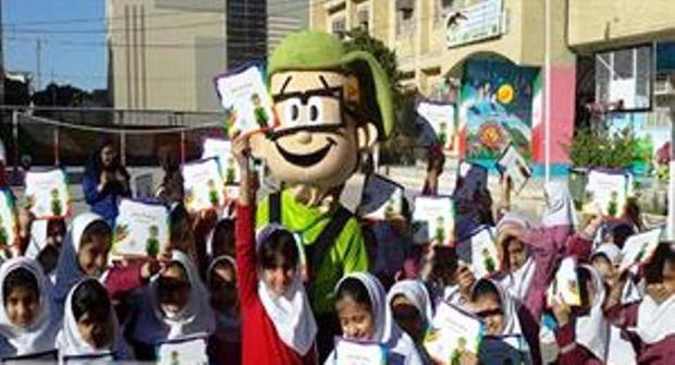 همکاری 40 مدرسه بندرعباس با طرح همیاران سبز