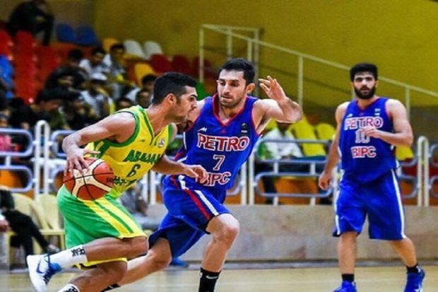 حریفان تیم بسکتبال پالایش نفت آبادان در آسیا مشخص شدند