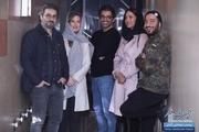 پریناز ایزدیار، نوید محمدزاده و ستاره پسیانی در سینما آزادی+تصاویر