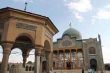 مرحله جدید مرمت آستان مقدس امامزاده حسین (ع) آغاز شد