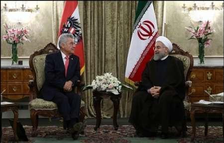 امضای 4 سند همکاری میان ایران و اتریش
