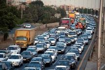 بیش از هفت میلیون هزار تردد در جاده های همدان ثبت شد
