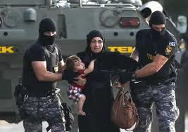 مادران نگران و فرزندان رنجور مهاجر سوری+ تصاویر