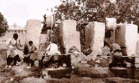 سیستم آبیاری در زمان قاجار + تصویر