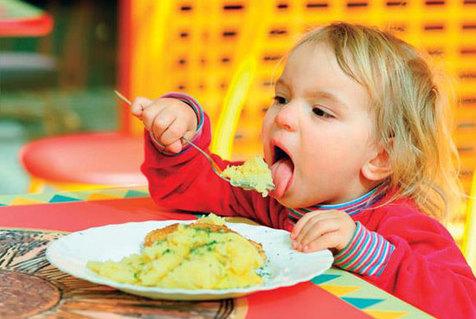 تغییر رفتار تغذیه ای کودکان