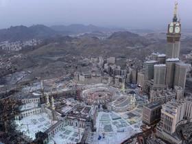 جدیدترین عکس هوایی از خانه خدا