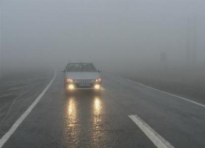 مه گرفتگی و کاهش دید در 5 محور مواصلاتی کشور