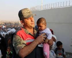 تراژدی انسانی در مرز ترکیه با سوریه+ عکس