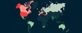 کدام کشورها کالری بیشتری مصرف می کنند؟