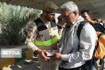 هفت هزار زائر امروز از مرز خسروی عازم عراق شدند