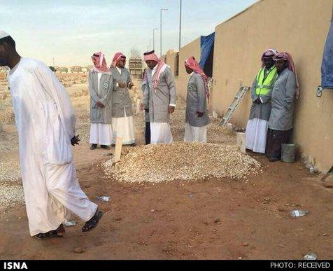 قبر پادشاه عربستان + تصاویر